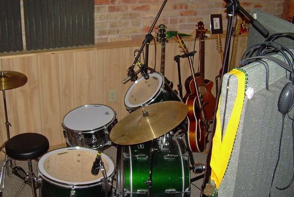 Studio Drum Set